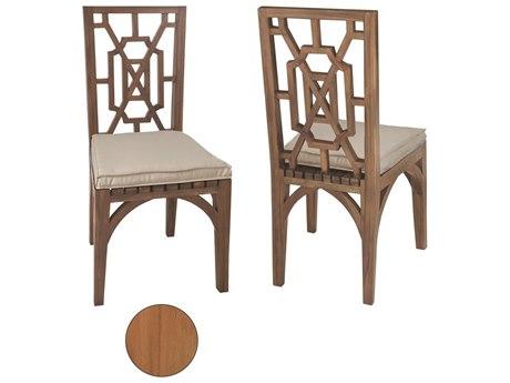 Elk Outdoor Teak Euro Oil Dining Chairs (Set of 2)