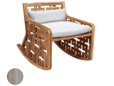 Elk Outdoor Guildmaster Henna Teak Lounge Chair