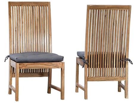 Elk Outdoor Harvard Euro Teak Oil Dining Chair