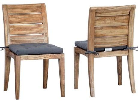 Elk Outdoor Teak Euro Oil Dining Chair