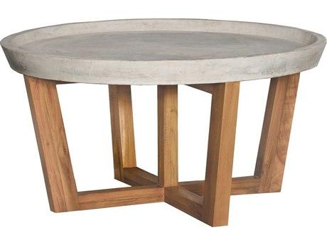 Elk Outdoor Euro Teak Oil 32'' Wide Round Coffee Table