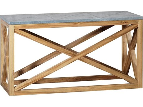 Elk Outdoor Nantucket Euro Teak Oil 52'' Wide Rectangular Console Table