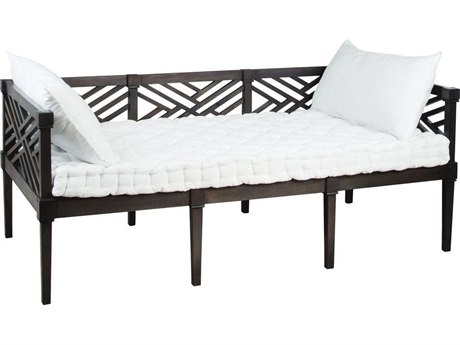 Elk Outdoor Teak Antique Smoke Lounge Bed