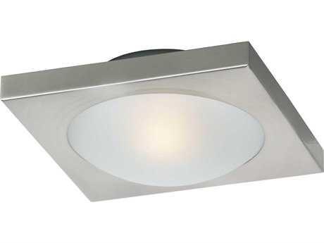ET2 Piccolo Satin Nickel Flush Mount Light
