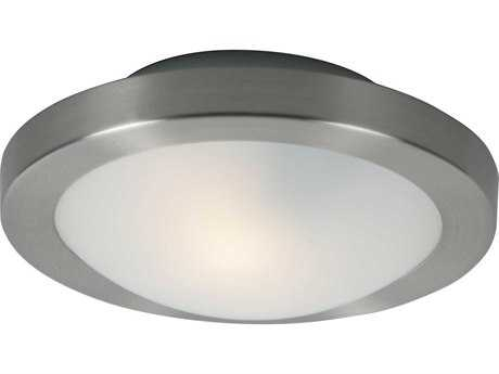 ET2 Piccolo Satin Nickel Flush Mount Light