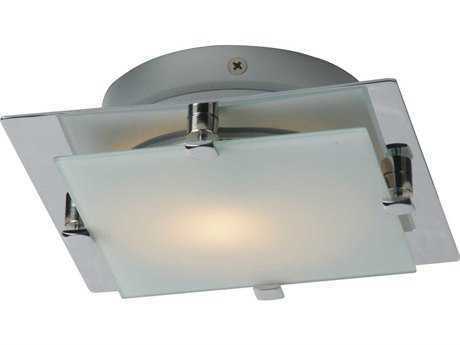 ET2 Piccolo Satin Nickel & Polished Chrome Semi-Flush Mount Light
