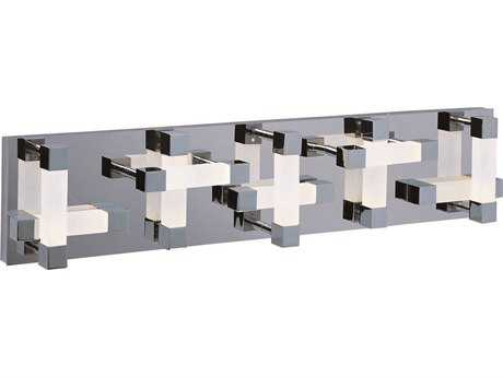 ET2 Crossroads Polished Chrome 20-Light Vanity Light