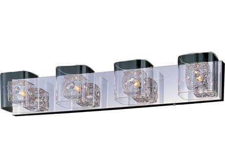 ET2 Gem Polished Chrome Four-Light Vanity Light