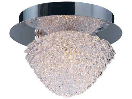 ET2 Blossom Polished Chrome 5.5'' Wide Flush Mount Light