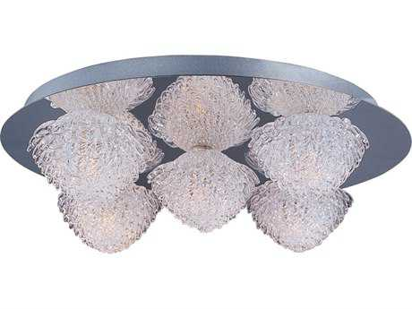 ET2 Blossom Polished Chrome Five-Light 16'' Wide Flush Mount Light
