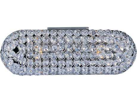 ET2 Brilliant Polished Chrome Two-Light Wall Sconce