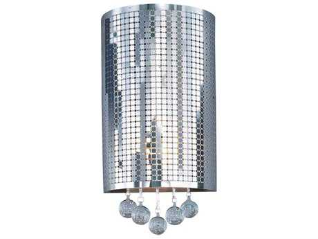 ET2 Illusion Polished Chrome Two-Light Wall Sconce