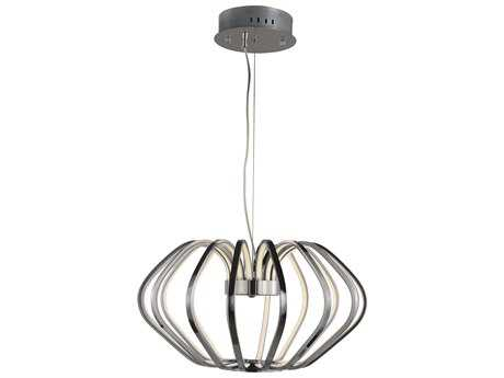 ET2 Argent Polished Chrome 16-Light 22'' Wide LED Pendant Light