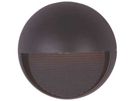 ET2 Alumilux DC Bronze Three-Light Outdoor Wall Light