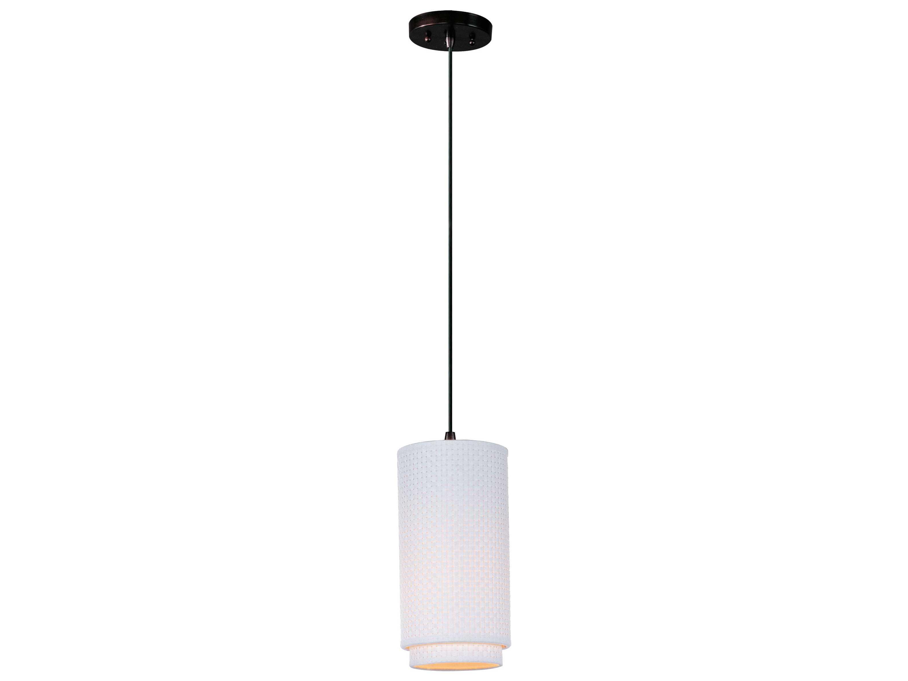 et2 elements oil rubbed bronze white weave 10 39 39 wide fluorescen. Black Bedroom Furniture Sets. Home Design Ideas
