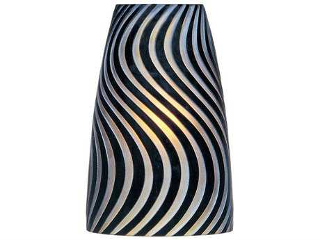 ET2 Carte Black Zebra Glass Shade
