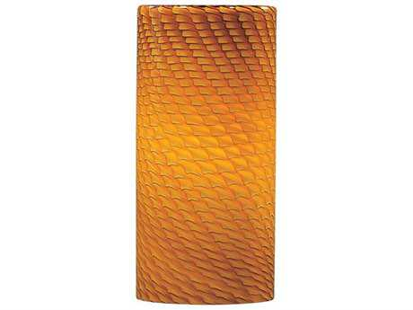 ET2 Carte Amber Ripple Glass Shade