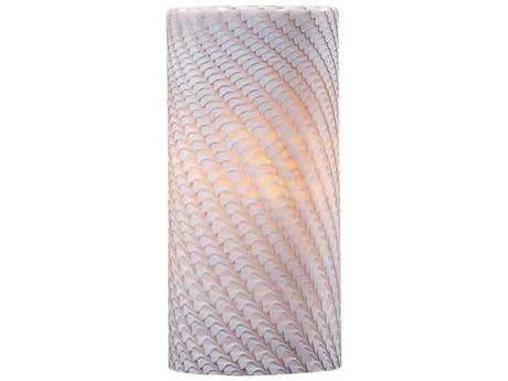 ET2 Carte Grey Ripple Glass Shade