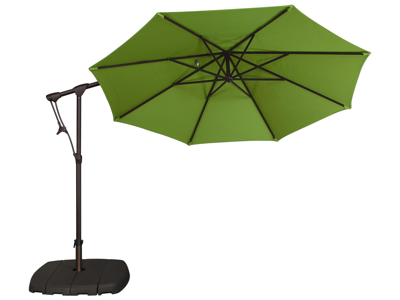 Treasure Garden Cantilever Aluminum 10u0026#39; Octagon Tilt u0026 Lock Offset Umbrella : EXAG19