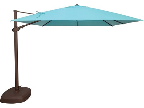 Treasure Garden 10' AG25TSQR Square Cantilever Umbrella