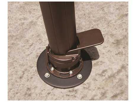 Treasure Garden Concrete Mount Kit For AKZ Cantilever Umbrellas Only