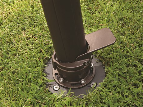 Treasure Garden In Ground Mount Kit For AKZ Cantilever Umbrellas Only PatioLiving