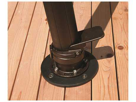 Treasure Garden Wood Mount Kit For AKZ Cantilever Umbrellas Only
