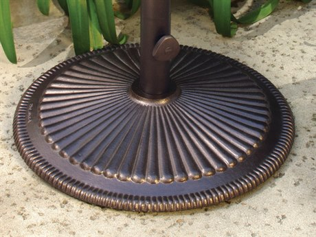 Treasure Garden 50 Pound Cast Iron Umbrella Base PatioLiving