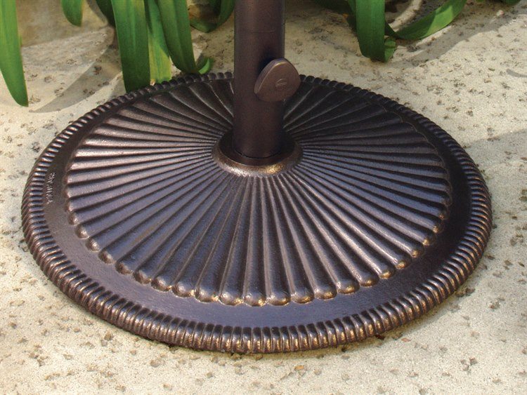 Treasure Garden 50 Pound Cast Iron Umbrella Base
