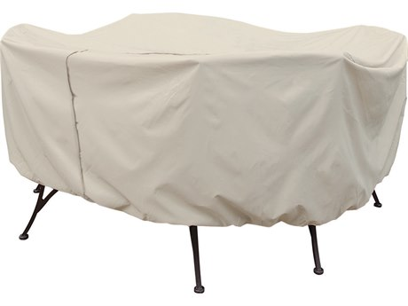 Treasure Garden 48 Round Table & Chairs Cover with Umbrella Hole
