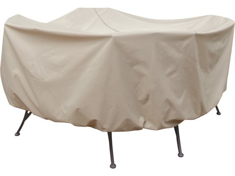 Treasure Garden Protective Furniture Table & Chairs Patio Cover with Umbrella Hole