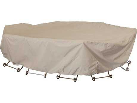 "Treasure Garden 72"" Square Table & Chairs Cover with Umbrella Hole"
