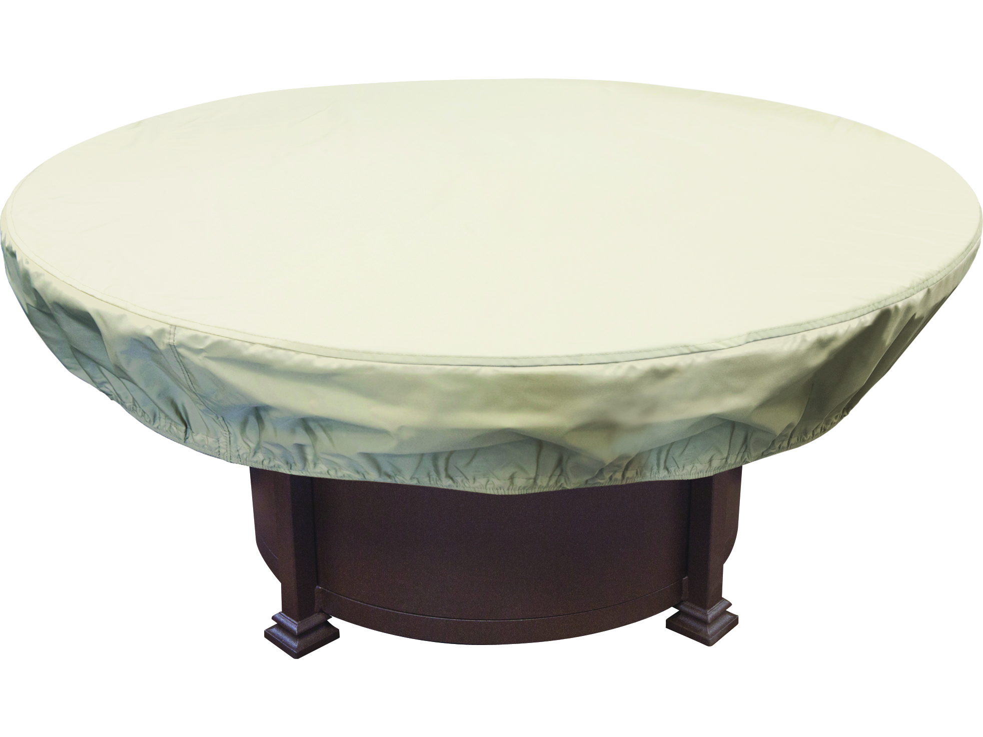 Treasure garden 48 54 round chat and fire pit cover excp930 for Treasure garden patio furniture covers