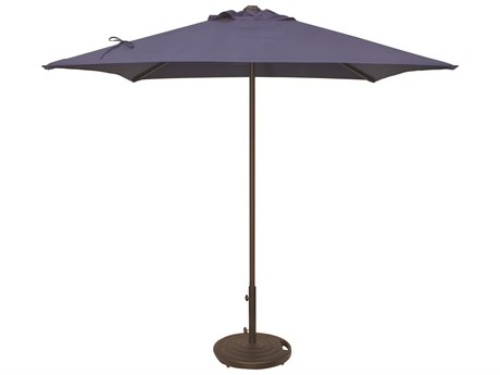 Treasure Garden NonStock Sunbrella  Commercial Aluminum 7' Square Push Up Lift Umbrella