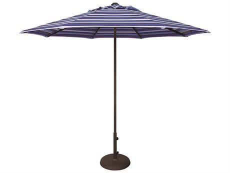 Treasure Garden NonStock Sunbrella Commercial Aluminum 9' Octagon Push Up Lift Vented Umbrella PatioLiving