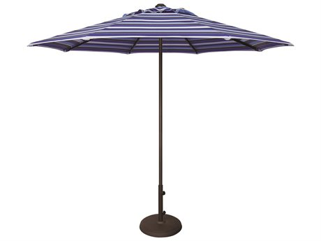 Treasure Garden NonStock Sunbrella Commercial Aluminum 9' Octagon Push Up Lift Vented Umbrella