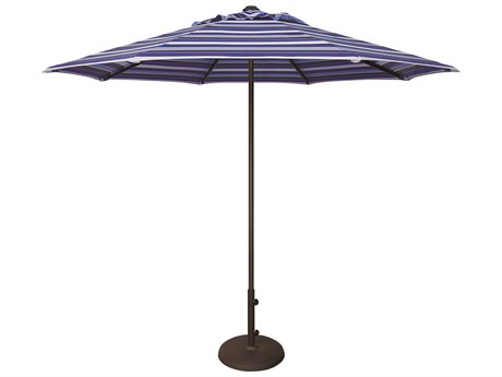 Treasure Garden Commercial Aluminum 9' Octagon Push Up Lift Vented Umbrella PatioLiving