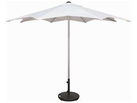 Treasure Garden Commercial 10 Foot Stardust Pully Lift Umbrella