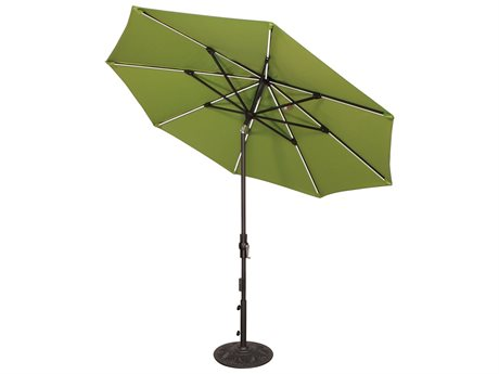 Treasure Garden NonStock Sunbrella  9' Starlux Collar Tilt Umbrella