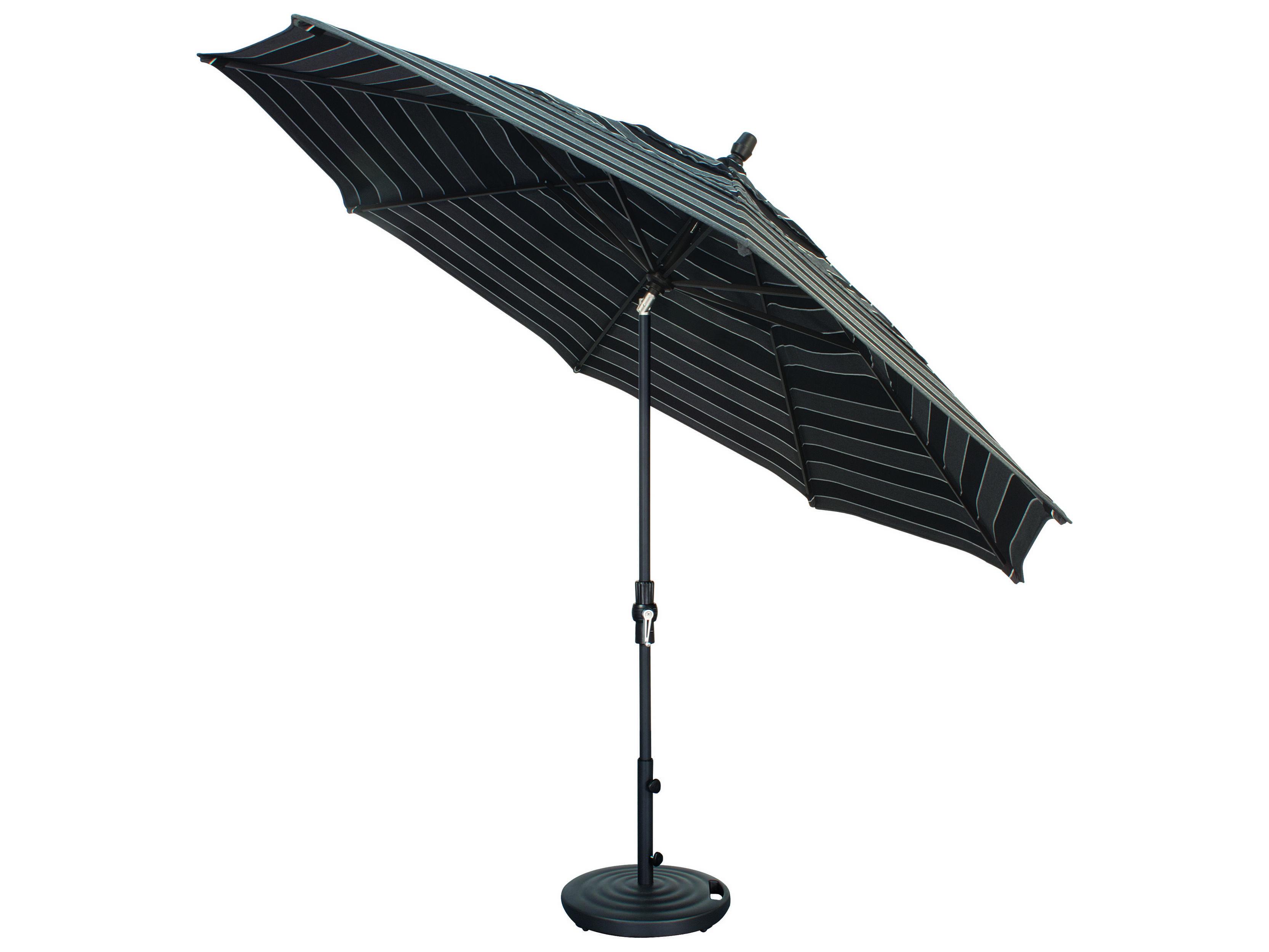 Treasure Garden Quick Ship Market Aluminum 11 39 Octagon Collar Tilt Crank Lift Umbrella