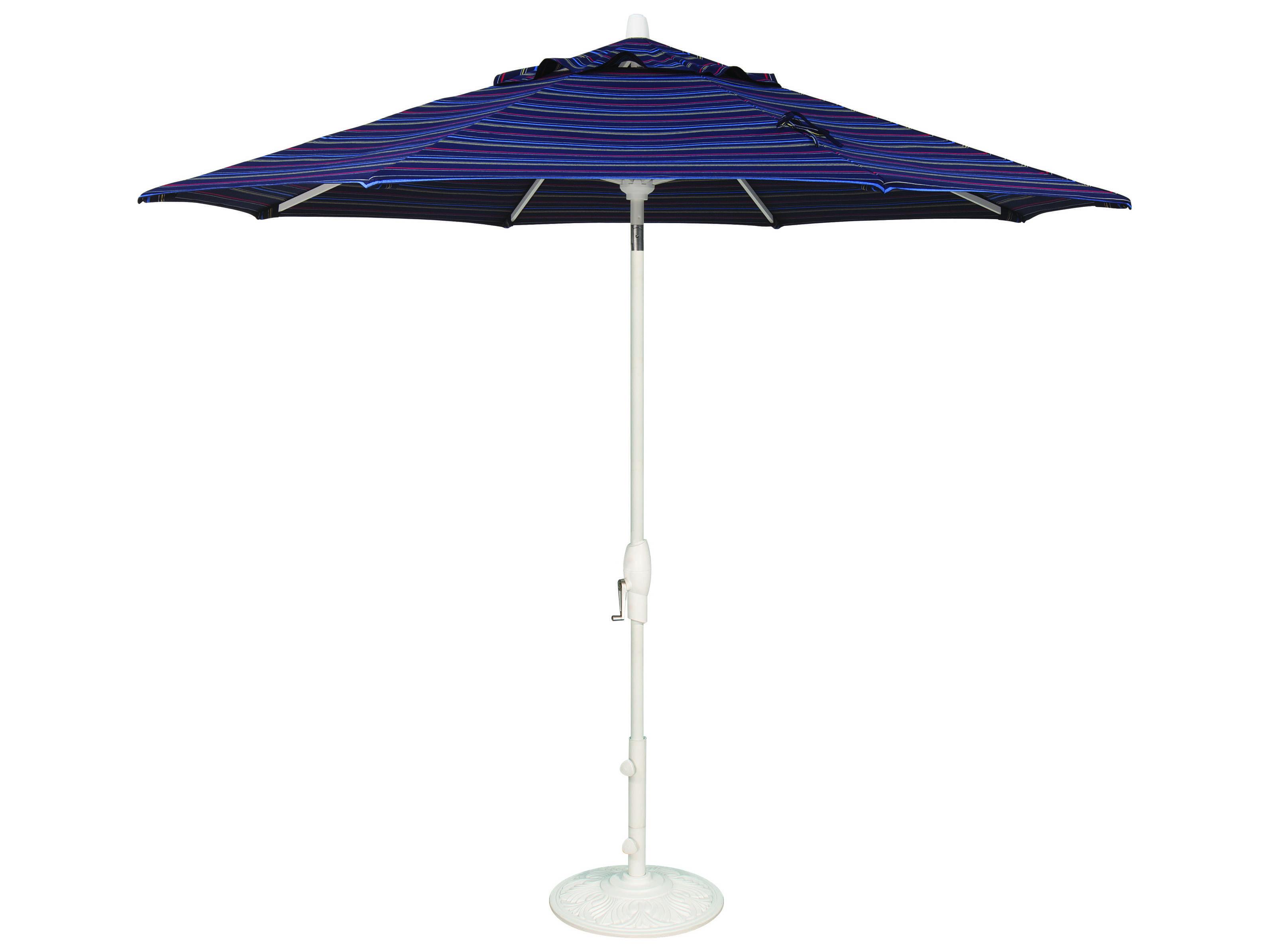 Treasure Garden Quick Ship Market Aluminum 9 39 Octagon Auto Tilt Crank Lift Umbrella