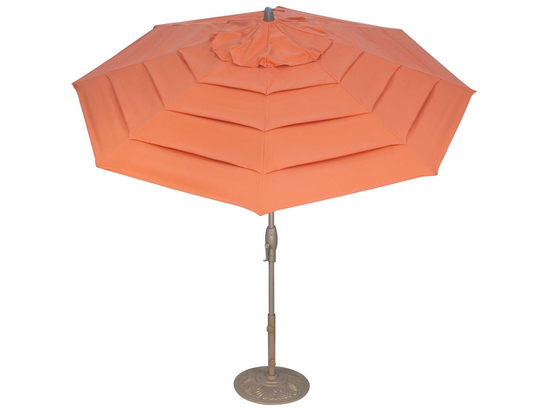 Treasure Garden Milan 9 Foot Crank Lift Auto Tilt Umbrella Um81 Ml