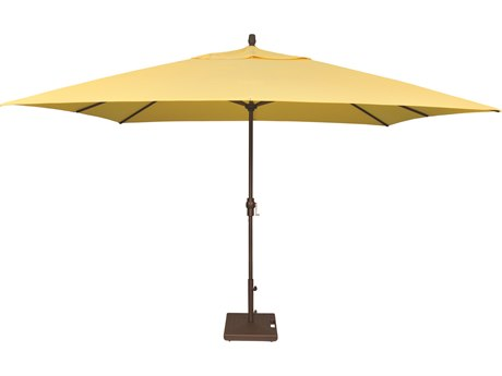 Treasure Garden NonStock Sunbrella  Market Aluminum 8' x 11' Crank Lift Rectangular Umbrella
