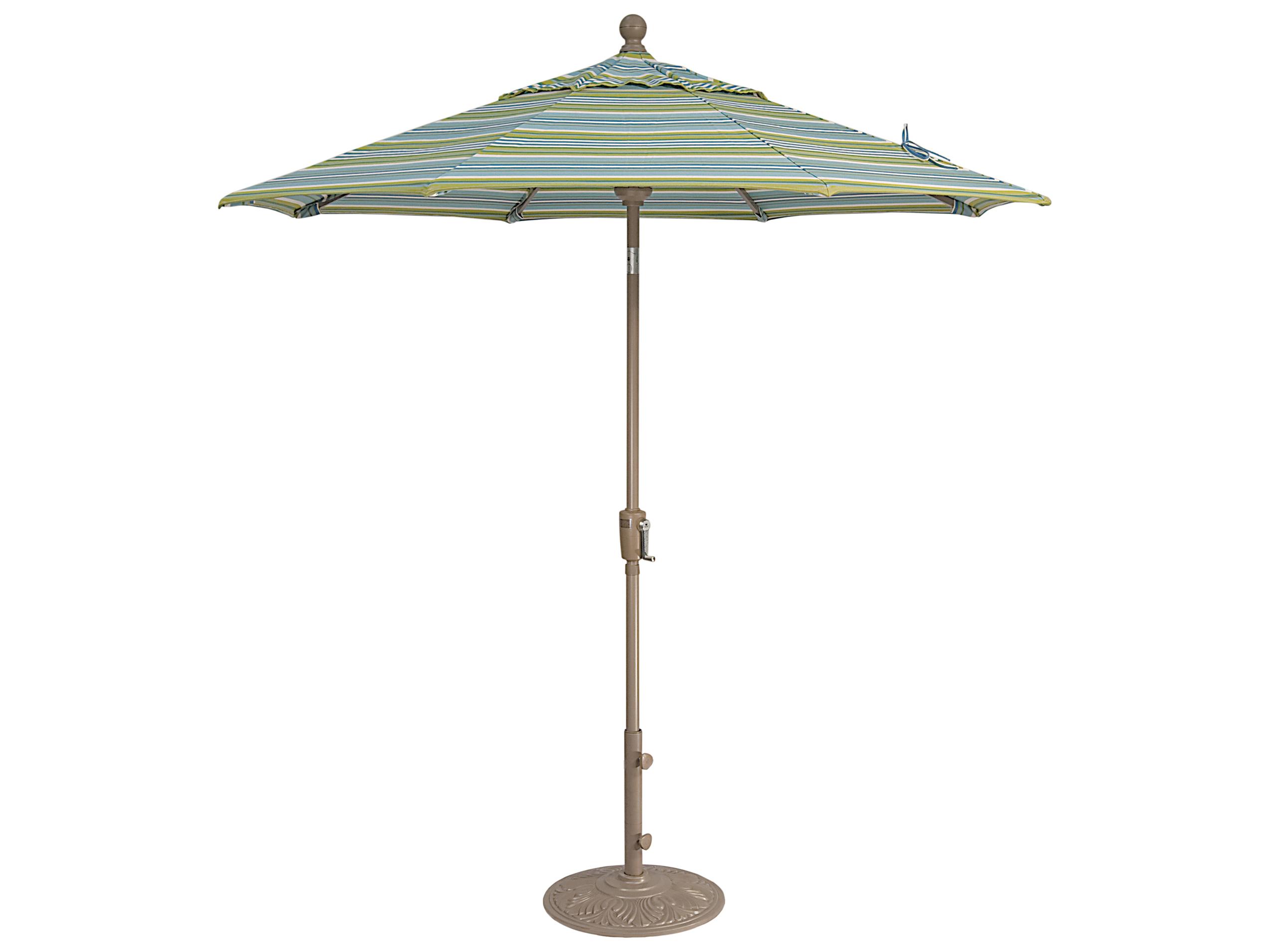 100 treasure garden umbrella replacement pole outdoor for Solar patio umbrella replacement parts