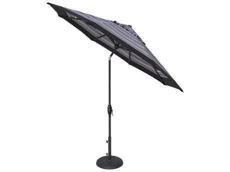 Treasure Garden NonStock Sunbrella 9ft Foot Glide Tilt Octagon Umbrella