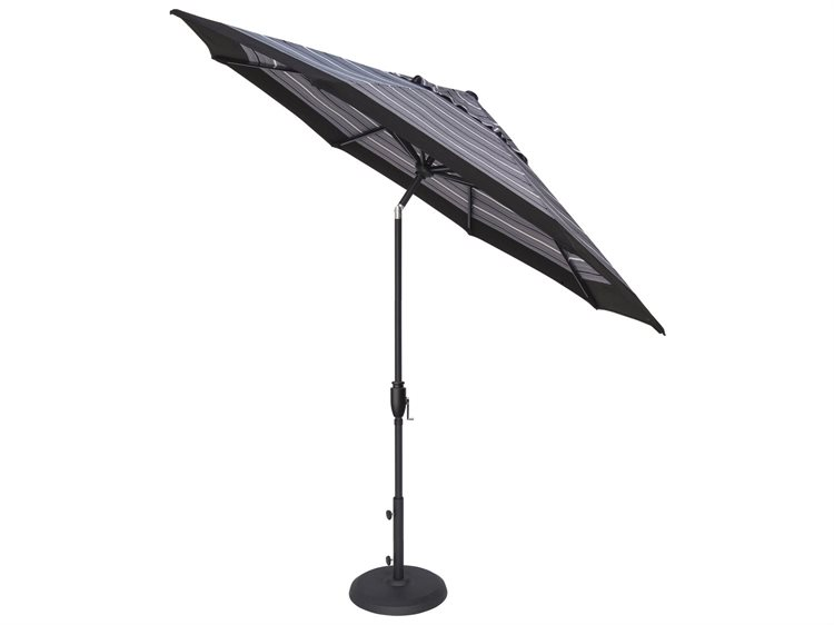 Treasure Garden NonStock Sunbrella 7.5 Foot Glide Tilt Octagon Umbrella PatioLiving