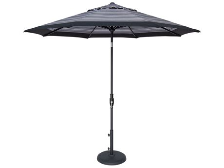 Treasure Garden QuickShip 7.5 Foot Glide Tilt Octagon Umbrella