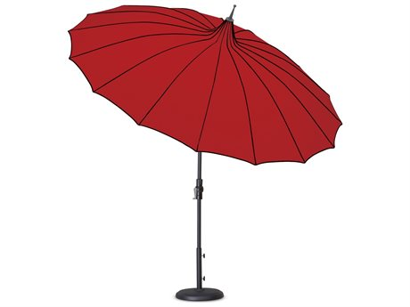 Treasure Garden 9' Pagoda Collar Tilt Umbrella