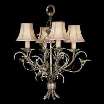Fine Art Lamps A Midsummer Nights Dream 163740ST Four-Light 25'' Wide Chandelier