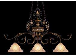 Fine Art Lamps Castile 237140ST Three-Light Pendant